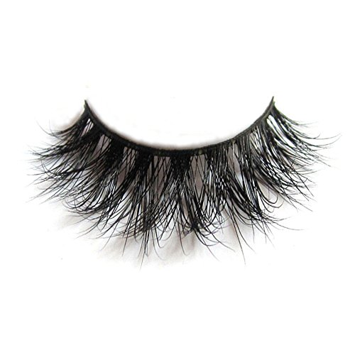 Arison Lashes - 3D Mink Fur Fake Eyelashes 100% Siberian Mink Fur Hand-made False Eyelashes 1 Pair Package