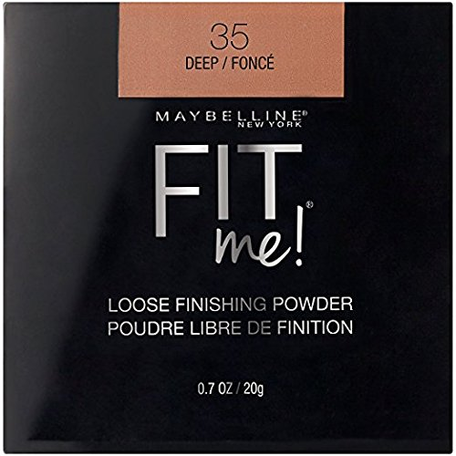 Maybelline New York - Maybelline Fit Me Loose Finishing Powder, 35 Deep, 0.7 oz (Pack of 2)