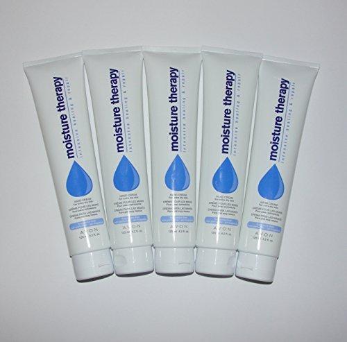 Avon - Avon Moisture Therapy Intensive Healing & Repair Hand Cream Lot of 5 125ml 4.2fl