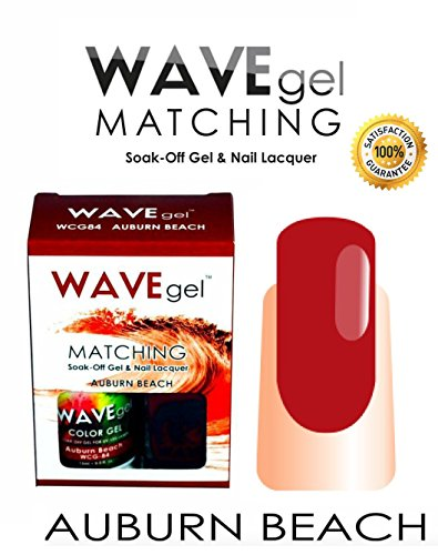 Wave Gel Matching - Wave Gel Matching Color Collection Pick UP Any (Auburn Beach)