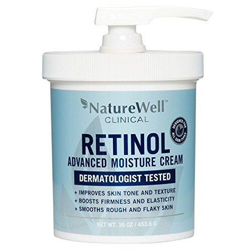 Retinol - Retinol Nature Well Clinical Advanced Moisture Cream, Large, 16 oz Tub
