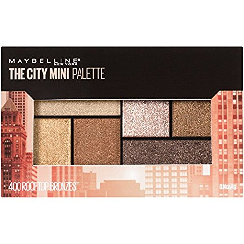 Maybelline - The City Mini Palette, Rooftop Bronzes
