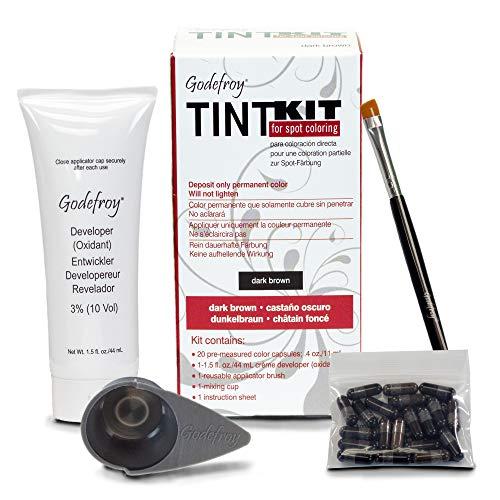 Godefroy - Godefroy Tint Kit for Spot Coloring, Dark Brown