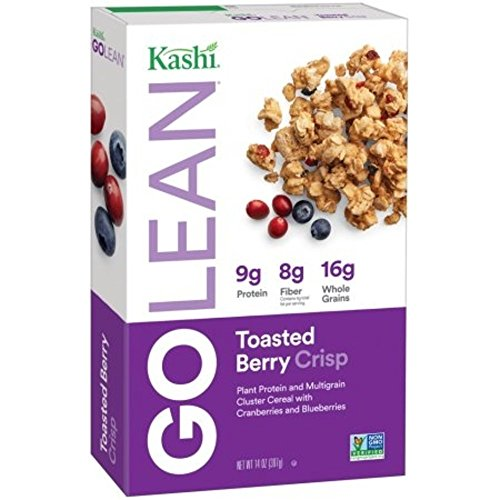 Kashi - Kashi GOLEAN Crisp! Toasted Berry Crumble, 14 Ounce Boxes (Pack of 4)