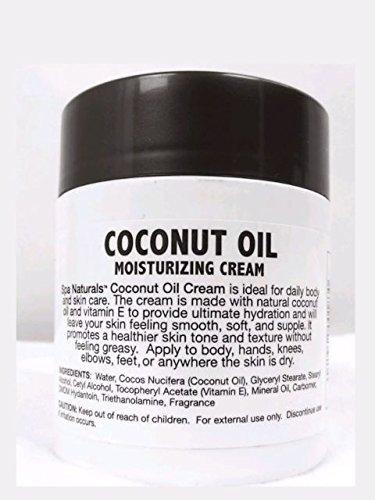 Spa naturals - Spa Naturals Extra Virgin Coconut Oil Moisturizing Cream, 12oz (2 Pack)