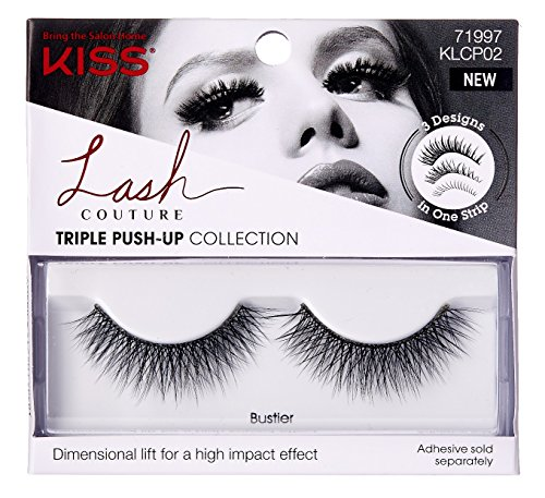 Kiss - Kiss Lash Couture Triple Push-Up Bustier (2 Pack)