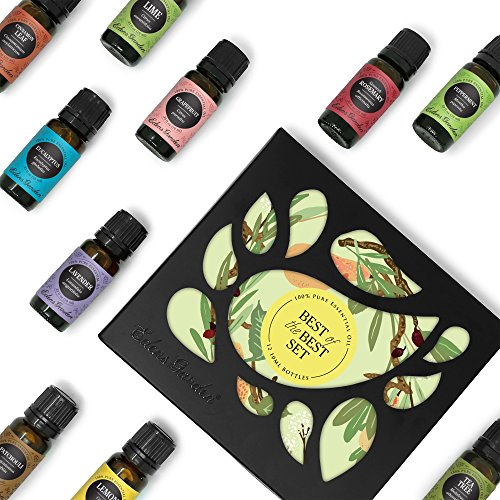 Edens Garden - Beginners Best of the Best Aromatherapy Gift Set 12/10 ml (100% Pure Therapeutic Grade Essential Oils)