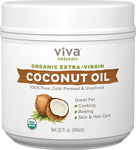 Viva Naturals Viva Naturals Organic Extra Virgin Coconut Oil, 32 Ounce