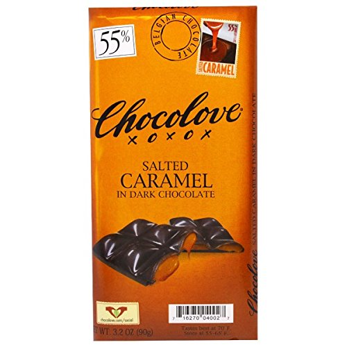 Chocolove - Chocolove Bar,Slt Crml,Dk Choc,55% 3.2 Oz (Pack Of 10)