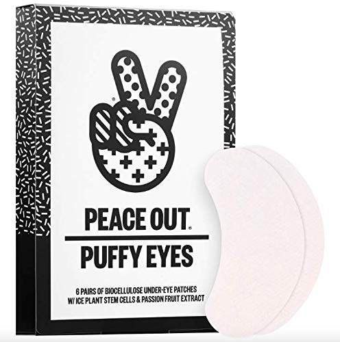Peace Out - Puffy Under Eye Patches