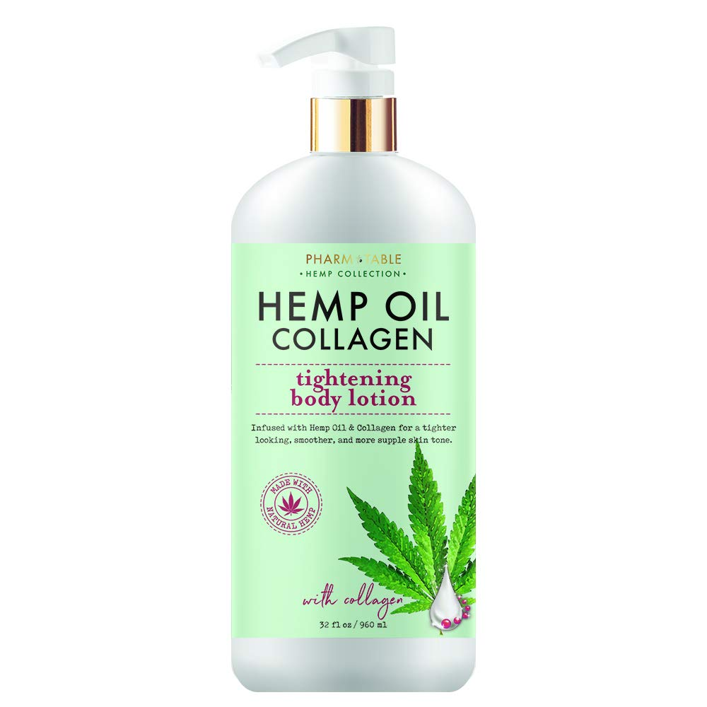 null - Hemp Collagen Body Lotion by Pharm To Table 32oz bottle