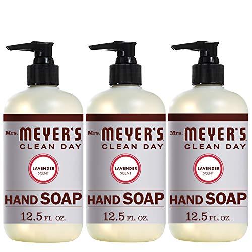 Mrs. Meyer's Clean Day - Mrs. Meyer's Liquid Hand Soap, Lavender, 12.5 fl oz (3 ct)