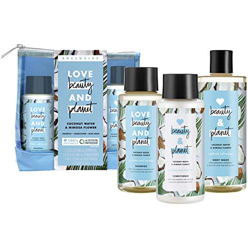 Love Beauty & Planet - Hair Care Set, Coconut Water and Mimosa Flower