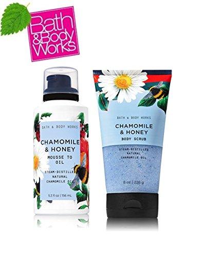 Bath & Body Works - Chamomile and Honey Body Scrub and Lotion
