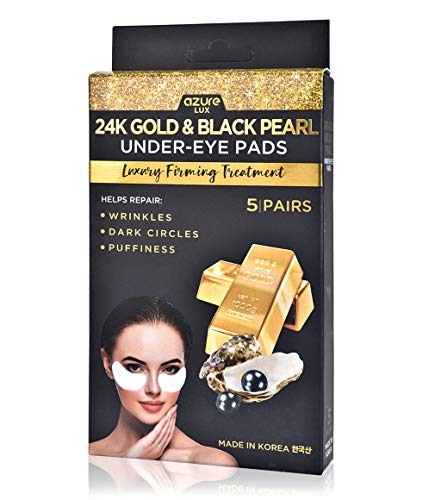 Azure Cosmetics - 24K Gold and Black Pearl Under Eye Luxury Firming Treatment