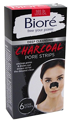 Bioré - Deep Cleansing Charcoal Pore Strips for Nose