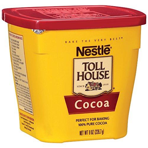 Nestle - NESTLE TOLL HOUSE Cocoa 8 oz. Plastic Canister