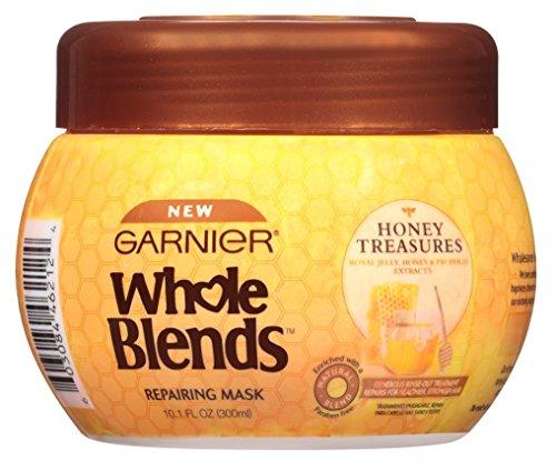 Garnier Garnier Whole Blends Mask Honey Treasures 10.1 Ounce Jar (300ml) (6 Pack)