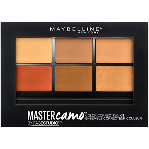 Maybelline New York - Maybelline Facestudio Master Camo Color Correcting Kit, Deep, 0.21 oz.