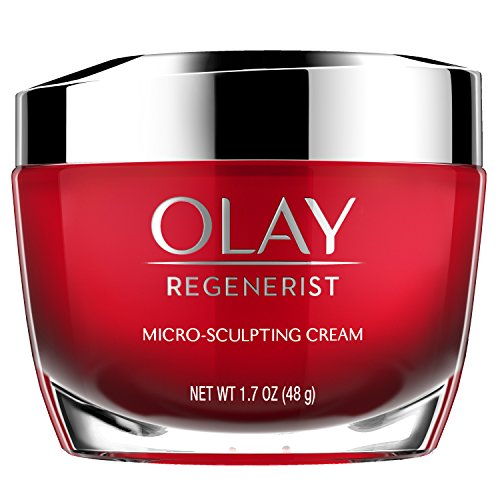 Olay - Face Moisturizer with Collagen Peptides by Olay Regenerist, Micro-Sculpting Cream, 1.7 oz