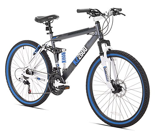 Kent - Kent KZ2600 Dual-Suspension Mountain Bike, 26-Inch