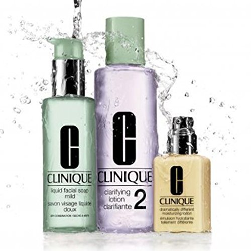 Clinique - 3 Steps System for Dry / Dry Combination Skin Set