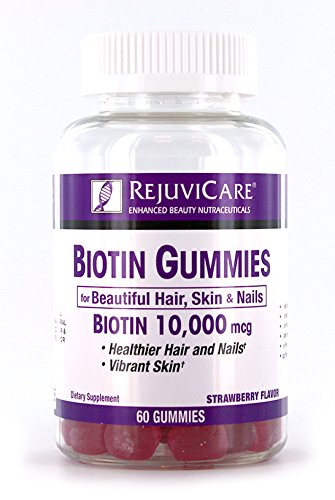 Rejuvicare - Biotin Gummies for Beautiful Hair, Skin and Nails