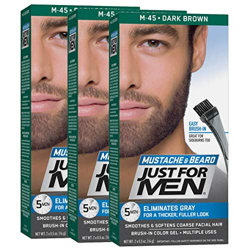 Just for Men - Mustache & Beard Brush-In Color Gel