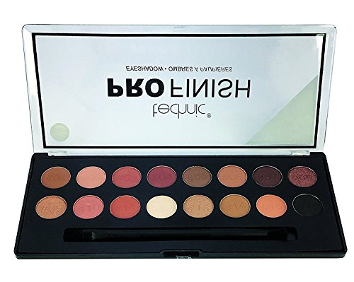 Technic - Pro Finish 16 Colour Eyeshadow Palette, Toffee Edition