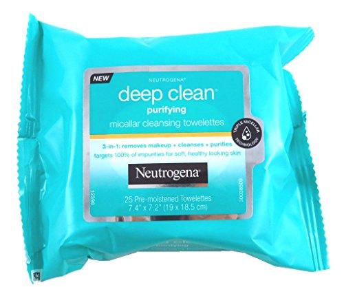 Neutrogena - Deep Clean Purify Micellar Towelettes