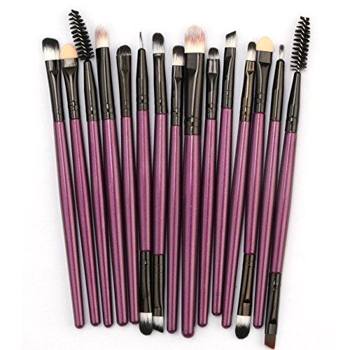 KpopBaby Makeup Brushes - Clearence Brushes KpopBaby 15pcs/set Makeup Brush Set tools Make-up Toiletry Kit Wool Make Up Brush Set