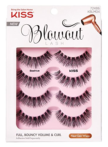 Kiss - Kiss Blowout Lashes Beehive 4-Pairs