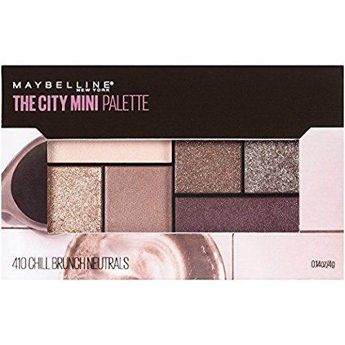 Maybelline New York - Maybelline The City Mini Palette, Chill Brunch Neutrals (Pack of 2)