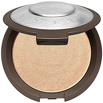 BECCA - BECCA Shimmering Skin Perfector Pressed Highlighter ~ Mini 0.085 g ~ (soft white gold w/pinky peach undertones) Champagne Pop