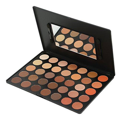 Kara Beauty - KARA Beauty Professional Makeup Palette ES04, 35 Color Bright Natural Eyeshadow