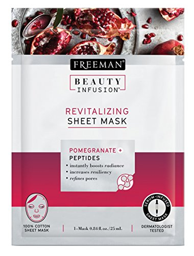 Freeman - Freeman Beauty Infusion Mask Revitalizing Sheet (6 Pieces) Disply