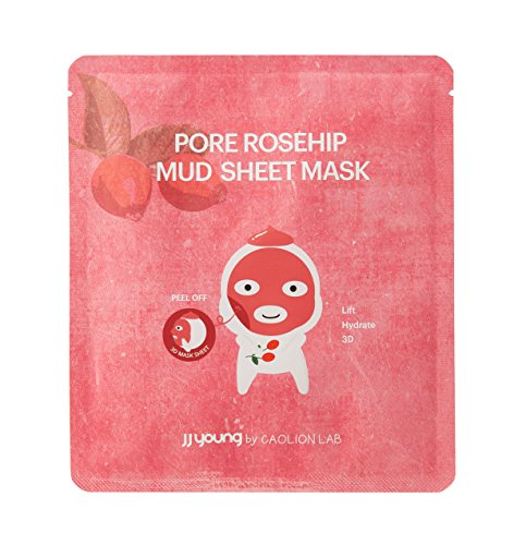 JJ YOUNG - Pore Rosehip Mud Sheet Mask