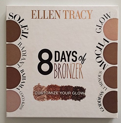 Costumize your glow - Ellen Tracy 8 days of bronzer collection costumize your glow
