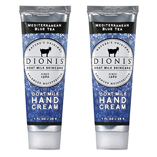 Dionis - Goat Milk Hand Cream, Mediterranean Blue Tea