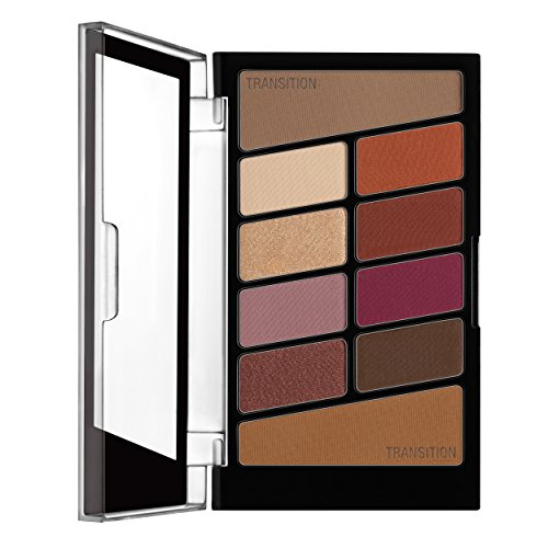 Wet 'n Wild Color Icon Eyeshadow 10 Pan Palette, Rose in the Air