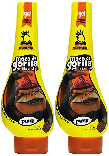 Moco de Gorila Moco de Gorila Estilo Punk Extreme Hold Gel, 11.9 Ounce (Pack of 2)