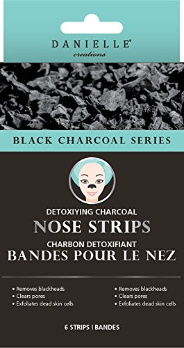 Danielle - Danielle Detoxifying Charcoal Nose Strips 8 Piece