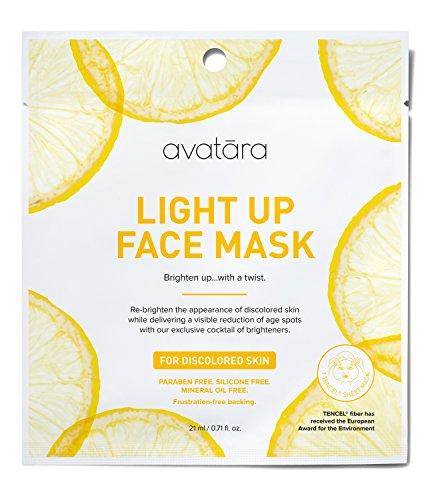 Avatara - Light Up Face Sheet Mask for Discolored Skin