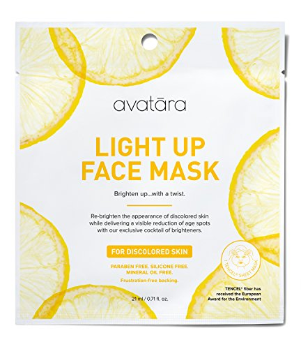 Avatara - Light Up Face Sheet Mask for Discolored Skin