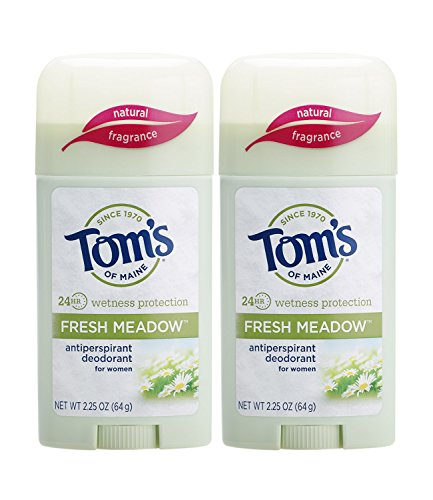 Tom's of Maine - Tom's of Maine Women's Antiperspirant Deodorant Stick, Fresh Meadow, 2 Count