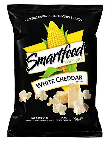 Smartfood - Smartfood White Cheddar Flavored Popcorn, 1 Ounce (Pack of 64)