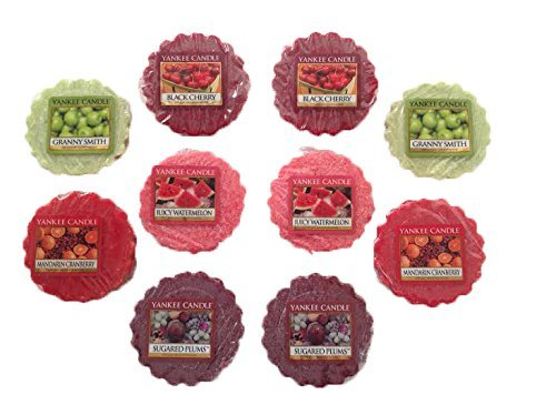 Yankee Candle - Yankee Candle Fruity Scents Tarts Wax Melts Sampler Pack- 10 Count