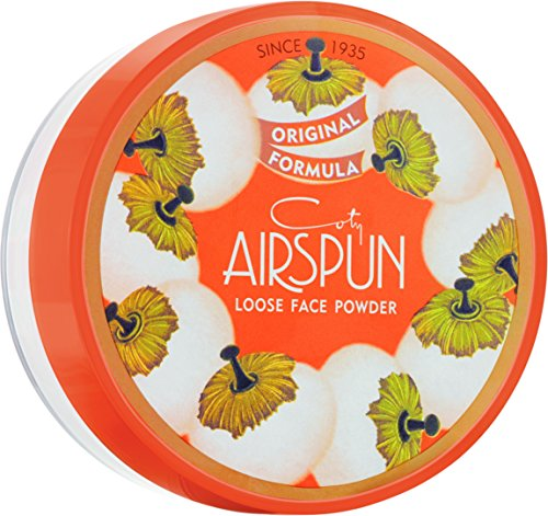 Coty Airspun - Coty Airspun Face Powder, Naturally Neutral, 2.3 oz, Natural Tone Loose Face Powder, for Setting Makeup or Foundation, Lightweight, Long Lasting