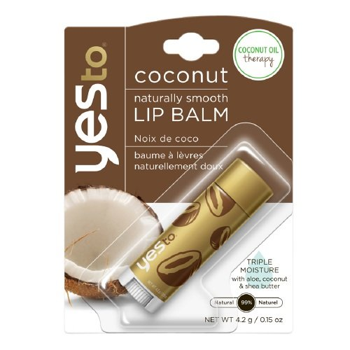 Yes to - Coconut Naturally Smooth Lip Balm, Coconut