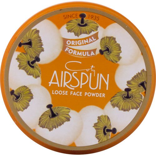 Coty Coty Airspun Loose Powder, Translucent Extra Coverage, 070-41, 2.3 Ounce (3 Pack)